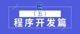 网站软件系统开发服务流程之_程序开发篇(五)