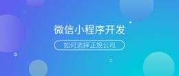 贵阳微信小程序开发哪家公司好?